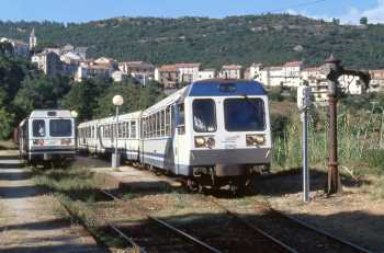 Le train corse : U Trinichellu