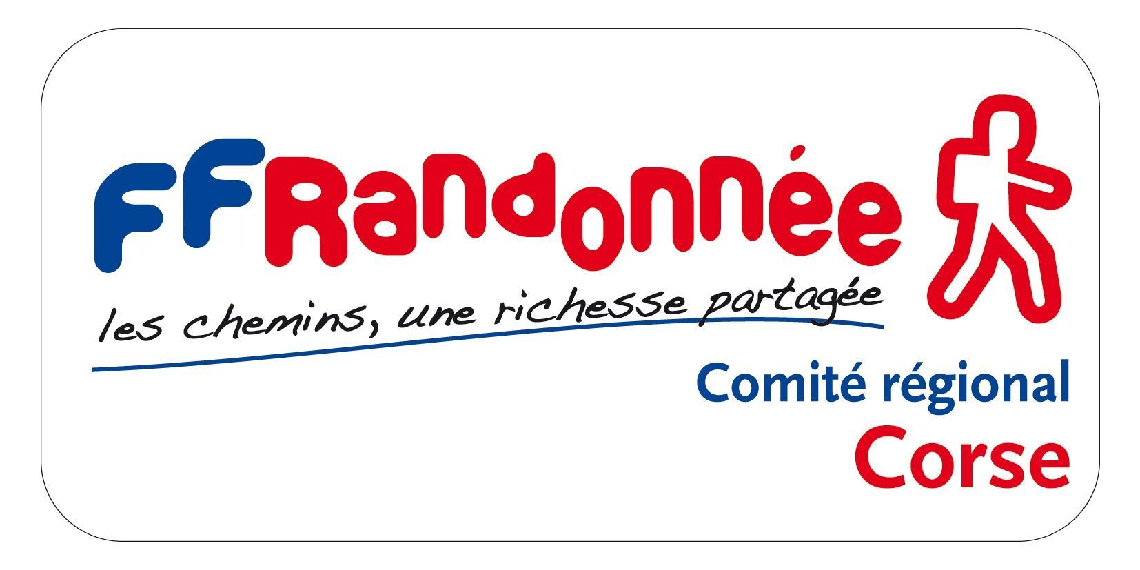 Logo du Comité Régional de la Randonnée Pédestre de la Corse