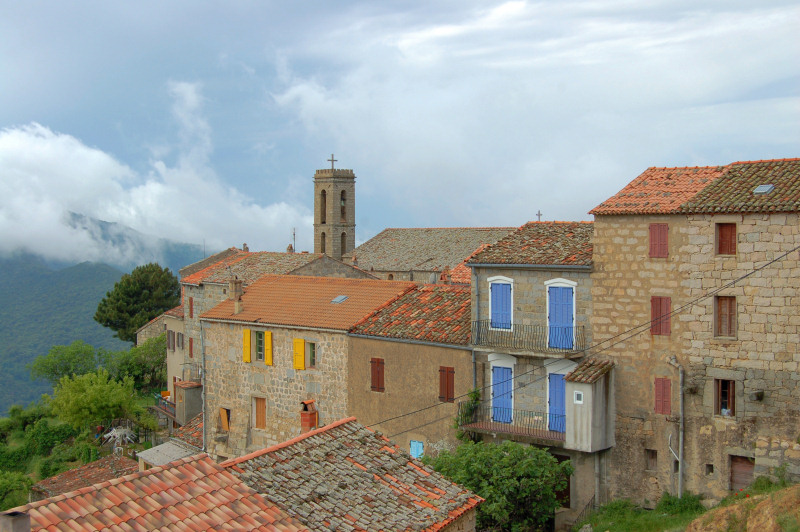 Le village de Serra di Scopamene<br />(Photo Jérome Rattat)